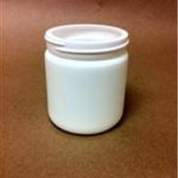 8 oz HDPE Jar, Round, 70-400,