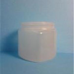 8 oz PVC Jar, Triangle, 70-400,