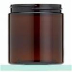 8 oz PET Jar, Round, 70-400, Straight Sided