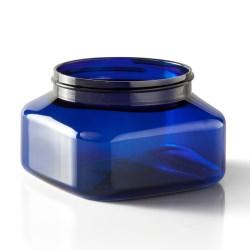 8 oz PET Jar, Square, 70-400, ,