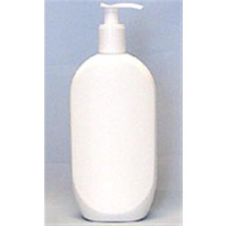 10.5 oz HDPE Straight Sided, Oval, 24-415, ,