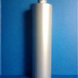 300 ml MDPE Cylinder, Round, 24-410, Straight Sided Platinum Thcik Shampoo