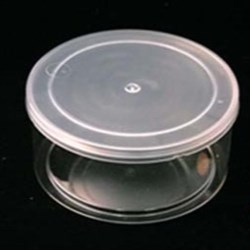 10 oz P/P Jar, Round, 100mm Snap On, ,