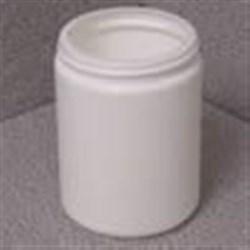 11 oz HDPE Jar, Round, 70-400,