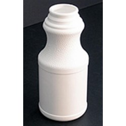 12 oz HDPE Carafe/Decanter, Round, 38mm Snap On, ,