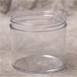 12 oz P/S Jar, Round, 89-400, Heavy Wall Straight Sided