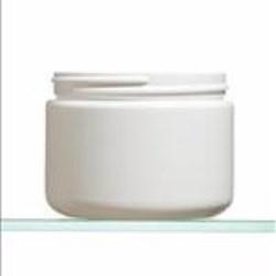 14 oz HDPE Jar, Round, 89-400, Straight Sided