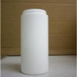 14 oz HDPE Cylinder, Round, 63-400, Straight Sided