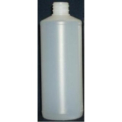 15 oz HDPE Cylinder, Round, 28-410, Straight Sided