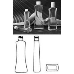 16 oz PVC Pinch, Oblong, 28-415, ,
