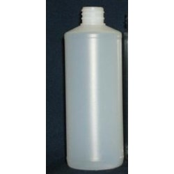 16 oz HDPE Cylinder, Round, 38-400, Straight Sided Heavy Weight