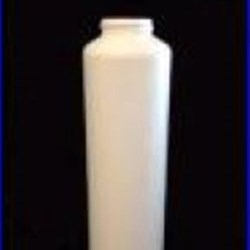 16 oz HDPE Cylinder, Round, 38-400, Straight Sided