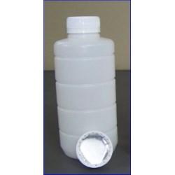 16 oz HDPE Jar, Round, 38-400, W/Cap Ribbed ,