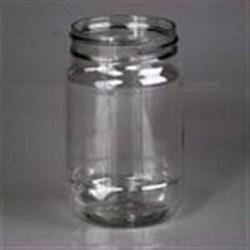 16 oz PET Jar, Round, 70-450,
