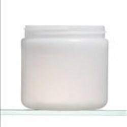16 oz HDPE Jar, Round, 89-400, Straight Sided Ibm