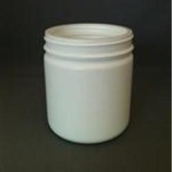 500 ml HDPE Jar, Round, 89Pano, Straight Sided