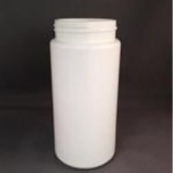 16 oz HDPE 25%PCR Cylinder, Round, 63-485,