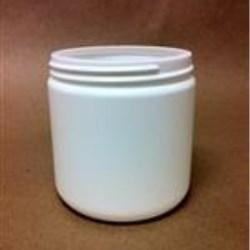 16 oz HDPE Jar, Round, 89-400,