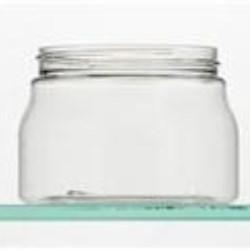 500 ml PET Jar, Round, 89-400, ,