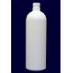 17 oz HDPE Bullet, Round, 24-410, ,