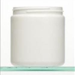 19 oz HDPE Jar, Round, 89-400, Straight Sided