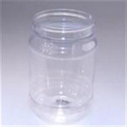 18 oz PET Jar, Round, 70-400,