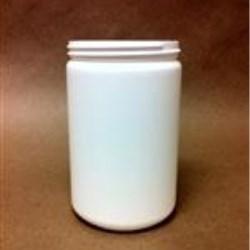 24 oz HDPE Jar, Round, 89-400,