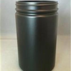 750 ml HDPE Jar, Round, 89Pano, Straight Sided
