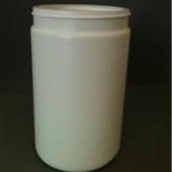 750 ml HDPE Jar, Round, 89-400, Straight Sided