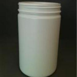 750 cc HDPE Jar, Round, 89Pano, Straight Sided
