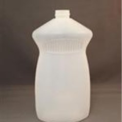 28 oz HDPE Pinch, Oval, 28P-100, ,