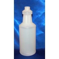 32 oz HDPE Carafe/Decanter, Round, 28-400,