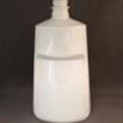 32 oz PET Tapered, Oblong, 28-400, Label Indent