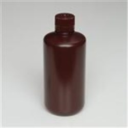 1000 ml HDPE Cylinder, Round, 38-400, W/ Cap Attached ,