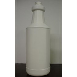 1 ltr HDPE Carafe/Decanter, Round, 28-400, Ribbed/Fluted