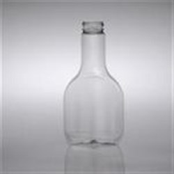 1 ltr PET Long Neck, Oval, 38mm ,