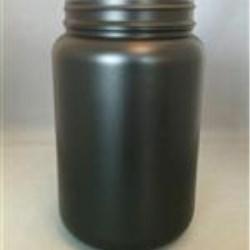 1250 cc HDPE Jar, Round, 89Pano ,