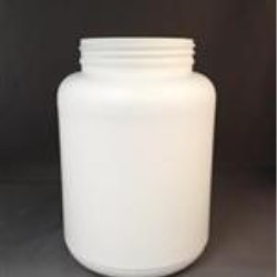 1500 cc HDPE Jar, Round, 89-400,