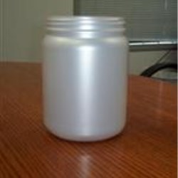 1.5 ltr HDPE Jar, Round, 110Pano ,