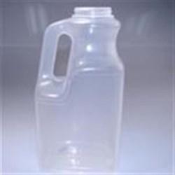 64 oz P/P Handleware, Oblong, 53-400, Offset Neck Label Indent