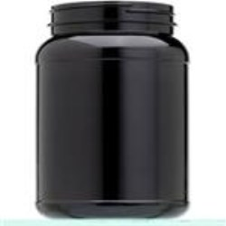 2000 cc PET Jar, Round, 110-400, Label Indent