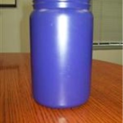 2 ltr HDPE Jar, Round, 110Pano ,