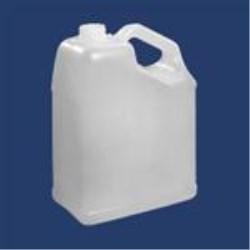 1 gal HDPE Handleware, Oblong, 38-400, Slant Handle ,