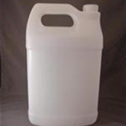 1 gal HDPE Handleware, Oblong, 38-400, Fluorinated