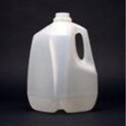 1 gal HDPE Handleware, Square, 38-400, Light Weight ,