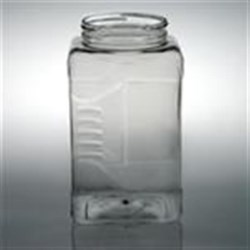 1 gal PET Jar, Square, 110-400,