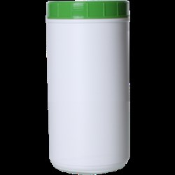 100 oz HDPE Jar, Round, 120-400, ,