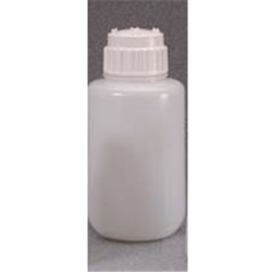 4 ltr HDPE Cylinder, Round, 83B, W/Cap Attached ,