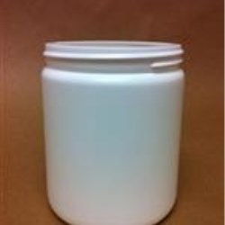 20 oz HDPE Jar, Round, 89-400,