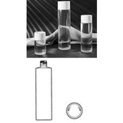 250 ml PETG Cylinder, Round, 24-410, ,